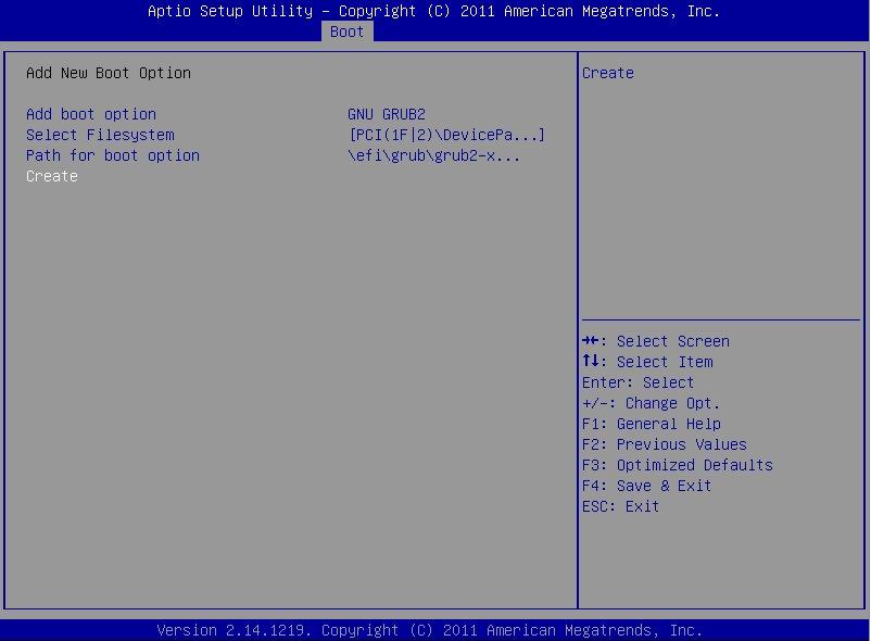 SuperMicro/Aptio UEFI setup utility image